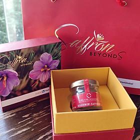 Nhụy hoa nghệ tây Organic Kashmir Saffron hộp 2g