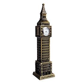 Mô hình đồng hồ Big Ben cao 23 cm - Màu Vàng Rêu