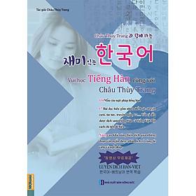 Sách Vui học cùng Châu Thùy Trang-Sách Tự Học-Sách Học Tiếng Hàn