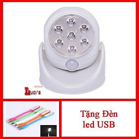 Đèn led cảm ứng hồng ngoại + Tặng đèn led USb