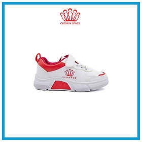 Giày Sneaker Bé Trai Bé Gái Đi Học Cổ Thấp Crown Space UK Active Trẻ em Cao Cấp CRUK8026 Siêu Nhẹ Êm Size 26-35/3-12 Tuổi