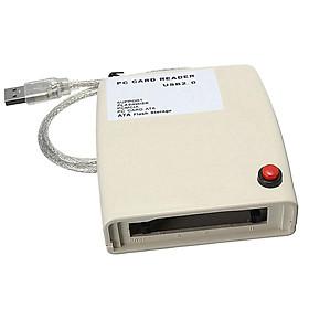USB 2.0 Máy Tính ATA Đầu Đọc Thẻ Adapter PCMCIA Kết Nối Cho Thẻ SD, Thẻ Nhớ Thẻ, XD Thẻ