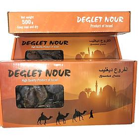 Chà là sấy khô nguyên cành Deglet Nour Israel