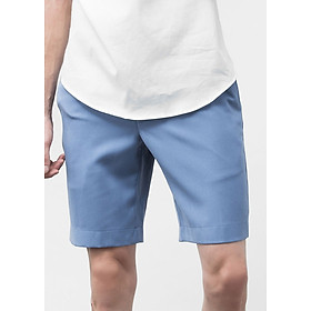 Quần Shorts With Pleat The Cosmo (Sky)