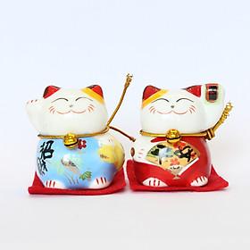 02 Mèo Thần Tài - May Mắn - Tài Lộc (Mẫu ngẫu nhiên tuyệt đỉnh)