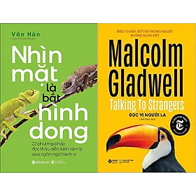 Combo Sách - Đọc Vị Người Lạ + Nhìn Mặt Là Bắt Hình Dong