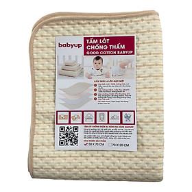 Tấm lót chống thấm cho bé Organic Good Cotton Babyup. Miếng lót chống thấm 4 lớp, mềm mại, thoáng khí, siêu thấm hút, có thể giặt, an toàn cho bé