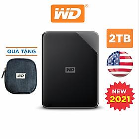 Ổ Cứng Di Động WD Elements SE 2TB 2.5 USB 3.0 - Hàng Chính Hãng