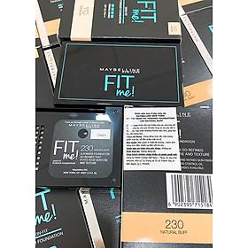 Phấn Nền Maybelline Fit Me Skin-Fit Powder Foundation 9gr Siêu Mịn Màng PM714-10