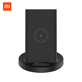 Xiaomi Vertical Wireless Charger 20W Max with Flash Charging Qi Compatible Multiple Safe Stand Horizontal for Mi 9 (20W)