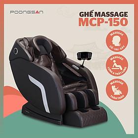 Ghế Massage Toàn Thân Công Nghệ Hàn Quốc - Poongsan MCP-150