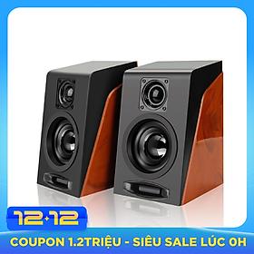 Loa vi tính 2.0 giả gỗ S950 – âm thanh hifi, công suất 6W - Hàng nhập khẩu