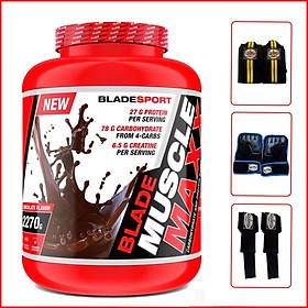 Sữa tăng cân Blade Maxx 2270g - kèm quà - vị chocolate