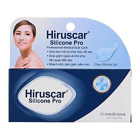 Gel Trị Sẹo Mổ, To, Lồi Và Phì Đại Hiruscar Silicone Pro 10G