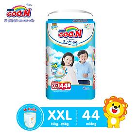 Tã quần Goon Premium cao cấp  gói siêu đại XXL44 (15kg ~ 25kg) 44 miếng