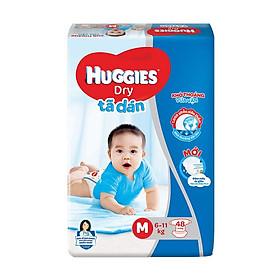Tã dán HUGGIES DRY JUMBO size M48