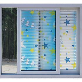 Giấy dán kính - decal dán cửa kính khổ 60*500 cm HPGLASS-0002