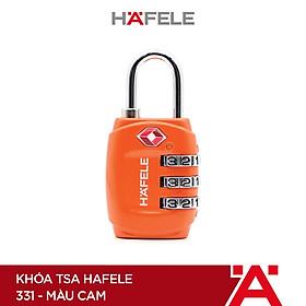 Khóa TSA Hafele 331 màu cam - 482.09.010 (Hàng chính hãng)