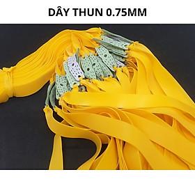 Thun Ná Cao Su 2 Lớp , Dây Ná Cao Su 0,8mm , 1mm , 1,2mm , sợi thun siêu bền