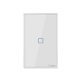 Công Tắc SONOFF T0US3C-TX Điều Khiển Từ Xa Qua Wifi Cảm Ứng Hẹn Giờ Tiêu Chuẩn Hoa Kỳ (433Mhz) - Trắng