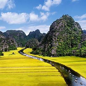 Tour Hà Nội - Hoa Lư - Tam Cốc 01 Ngày, Gồm Bữa Trưa, Khởi Hành Hàng Ngày & Dịp Lễ Tết