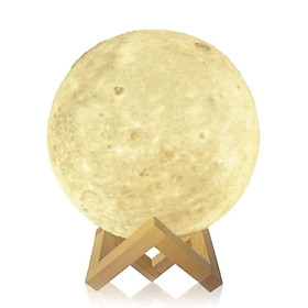 Đèn Mặt Trăng 3D Có Giá Đỡ Trang Trí