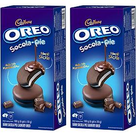 Combo 2 Hộp Bánh Oreo Sôcôla Pie 180g