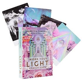 Bộ Bài Bói Tarot Work Your Light Oracle Cao Cấp