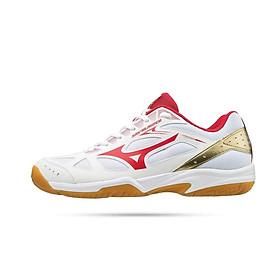 Giày thể thao Mizuno Sky Blaster 71GA194560 chuyên dụng cho môn cầu lông dành cho nam màu trắng đủ size