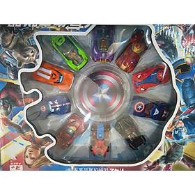 Bộ lắp ráp 10 xe sắt siêu anh hùng Avenger