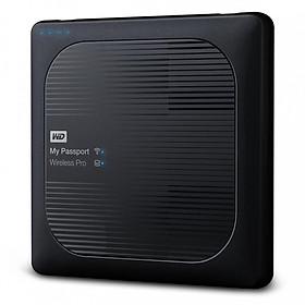 Ổ cứng di động WD My Passport Wireless Pro 2TB, WDBVPL0020BBK-NESN - Hàng Nhập Khẩu