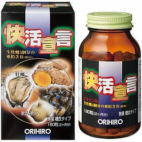 Thực phẩm chức năng Viên uống tinh chất hàu nghệ Orihiro Nhật Bản thải độc gan, bổ dương