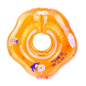 Phao bơi đỡ cổ chống lật cho bé tập bơi - màu cam