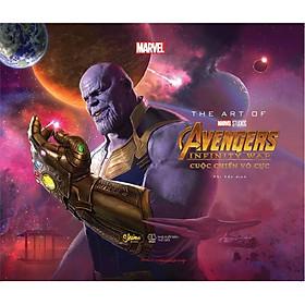 Sách - The Art Of Marvel Studios Avengers Infinity War (Cuộc Chiến Vô Cực) (tặng kèm bookmark)