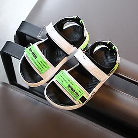 Dép sandal bé trai 1 – 3 tuổi quai ngang đế siêu nhẹ phong cách thể thao cá tính ST35