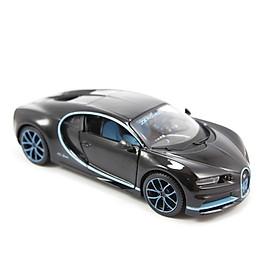Mô Hình Xe Bugatti Chiron ''42 Sec'' Version 1:24 Maisto MH-31514BK