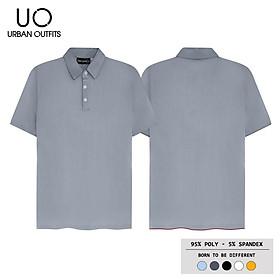 Áo Thun Cổ Bẻ Nam Nữ URBAN OUTFITS Trơn PLR01 Tay Ngắn Cặp Đôi Hàn Quốc Outfit Vải Poly Cotton 4 Chiều Rẻ Đẹp Có Đủ Màu