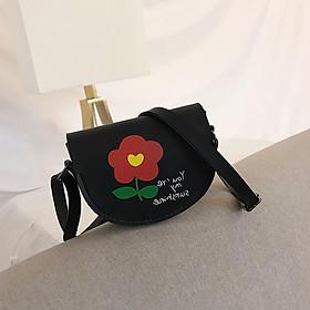 Túi đeo chéo mini cho bé hình bông hoa 15x11x4cm
