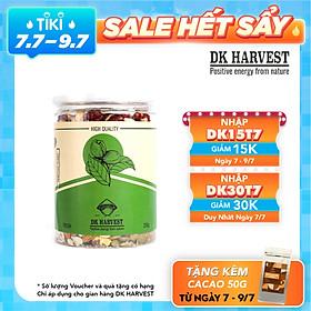 Hạt Mix 8 loại hạt nhập khẩu DK HARVEST - Nhân hạt óc chó vàng, Nhân hạt óc chó đỏ, Hạnh nhân, Macca, Hạt điều, Hạt bí xanh tách vỏ, Hướng dương, Hạt dẻ cười.