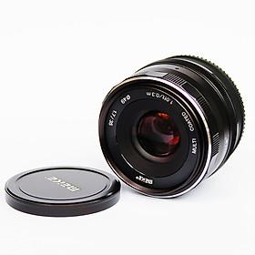 Ống kính Meike 35mm F1.7 cho máy ảnh Fuji manual focus- Hàng nhập khẩu