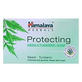 Xà Phòng Thiên Nhiên Himalaya Neem Và Nghệ Tây Bảo Vệ Da Làm Sạch, Thanh Lọc Giữ Da Tươi Mát Himalaya Herbals