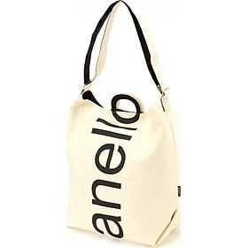 Túi tote ANELLO tay cầm chữ O đeo 2 kiểu AU-S0061
