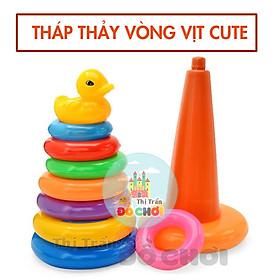 Lưới tháp thảy vòng vịt ( cỡ trung) cho bé trên 1 tuổi – HT-702