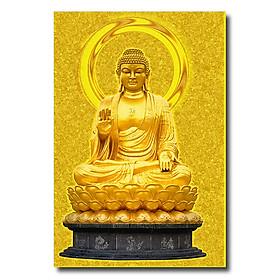 Hình đại diện sản phẩm Tranh Phòng Thờ Phật Vàng