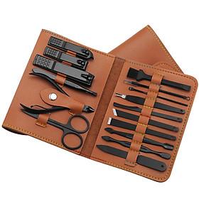 Bộ dụng cụ làm móng 16 món tiện dụng