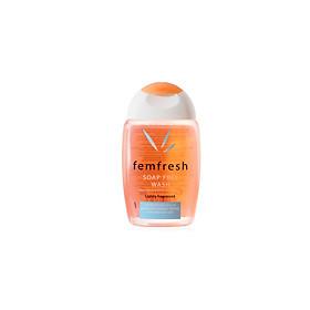 Dung dịch vệ sinh phụ nữ Femfresh Soap Free Wash (Bill Anh) 150ml- Cam