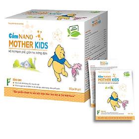 Hộp 20 gói cốm Nano MotherKids cho bé