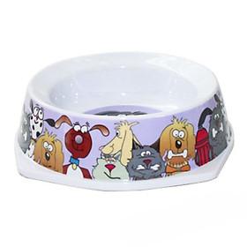 Bát Ăn Cho Chó Mèo - Nhiều Màu (450ml)