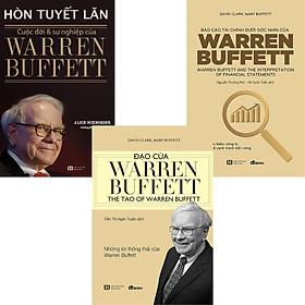 Combo 3 Cuốn Hòn Tuyết Lăn - Cuộc Đời Và Sự Nghiệp Của Warren Buffett + Báo Cáo Tài Chính Dưới Góc Nhìn Của Warren Buffett + Đạo Của Warren Buffett