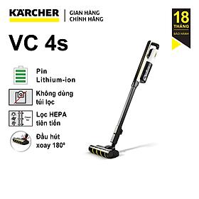 Máy Hút Bụi Cầm Tay Karcher VC 4s - Hàng Chính Hãng